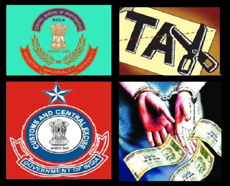 CBI, Central Excise, tax cut, corruption