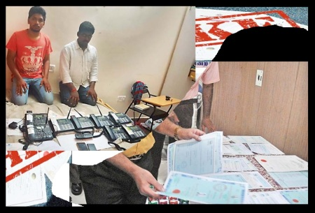 Corruption -Chennai duo issued -fake certicates