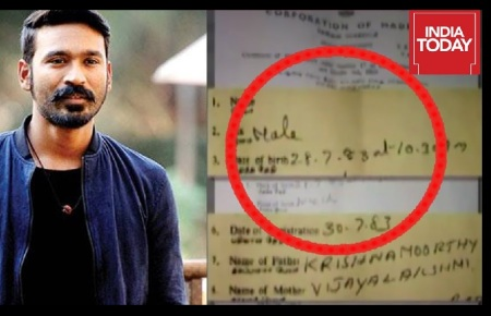 Corruption -Dhanush parentage row