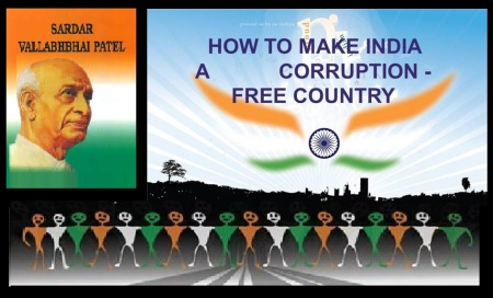 Sardar Patel Corruption free India